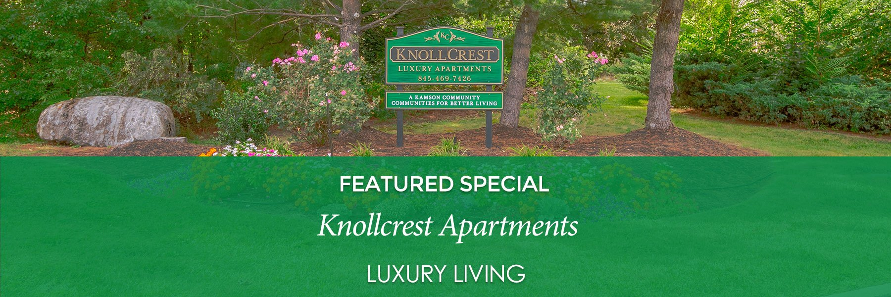 Knollcrest Village Apartments For Rent in Chester, NY Specials